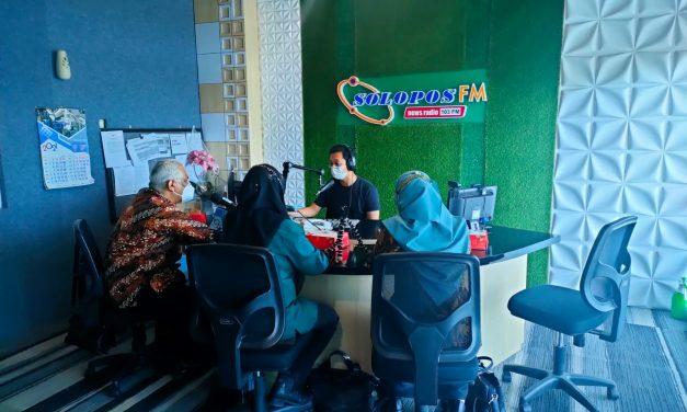 Usung tema PPKM Level di Daerah, Radio Solo F.M undang Quatly